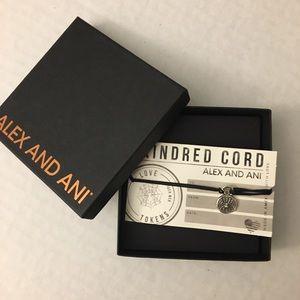 NEW 🕷🕸Spider Web Alex & Ani Pull Cord Bracelet